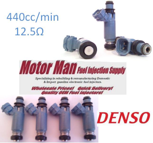 fuel injector nippondenso 195500 3920